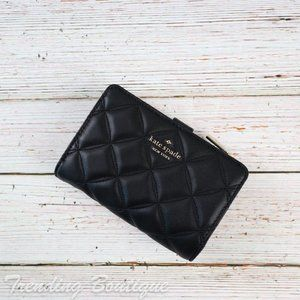 NWT Kate Spade Natalia Quilted Leather Wallet